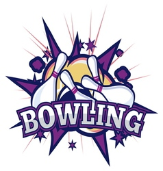 bowling1 resize vector image