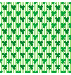 St patricks day seamless pattern vector