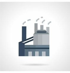 Indusrtial architectures flat icon vector