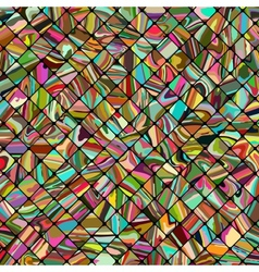 Abstract mosaic pattern background vector image vector image