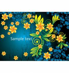flower abstract background vector image vector image