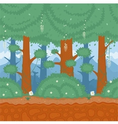 Pattern nature forest vector