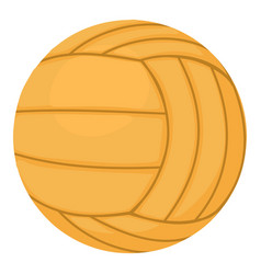 Volleyball ball icon cartoon style vector