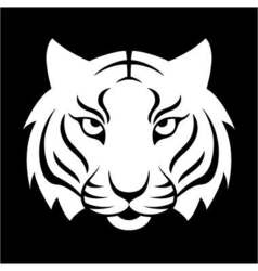 Tiger icon for logo design t-shirt print tiger vector