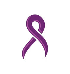 Cancer ribbon vector
