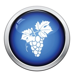 Icon of grape vector