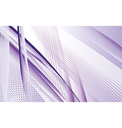 Dynamic purple swoosh vector