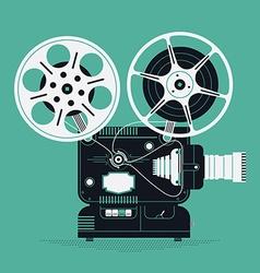 Movie Projector Icon vector image vector image