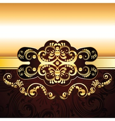 Red Decorative Background3 vector image vector image