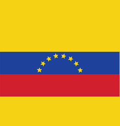 Venezuela flag for independence day and vector
