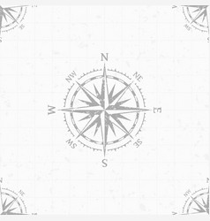 Wind rose background vector