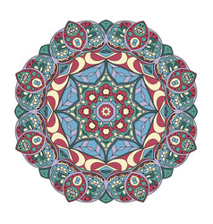 mandala pattern round ornament for your vector image