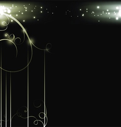 background with pattern vector image