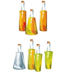 Oil vinegar vector