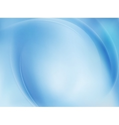Blue light wave abstract background eps 10 vector