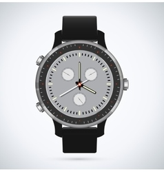 Modern and fashionable watch vector image