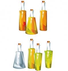 oil vinegar vector image