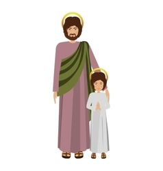 Young jesus design vector