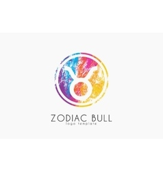 Zodiac lion logo Lion symbol Zodiac logo vector image