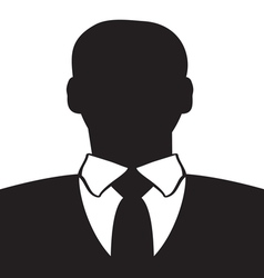 Businessman icon1 resize vector image vector image