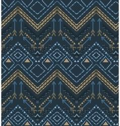 Ethnic seamless tribal boho pattern vector