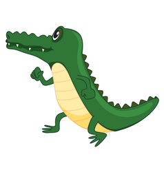 A crocodile vector