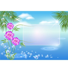 tropical magic vector image