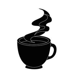 Mug coffee symbol vector