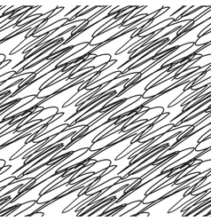 Abstract seamless black and white zigzag pattern vector