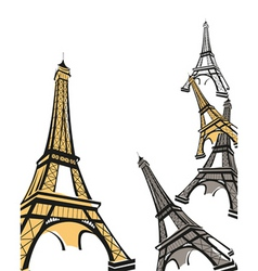 french montage vector image