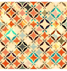 Abstract vintage star seamless vector