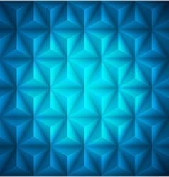 Blue Geometric abstract low-poly paper background vector image vector image