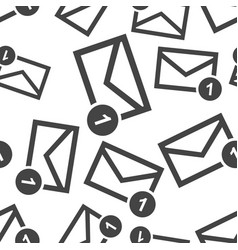 mail envelope message seamless pattern background vector image
