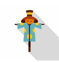 Scarecrow icon flat style vector