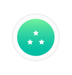 stars icon sign vector image