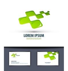Business logo icon emblema sign template business vector