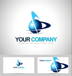 Business corporate logo vector