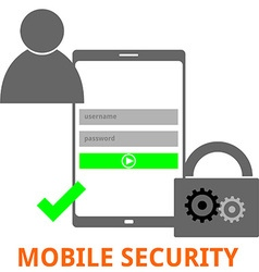 Mobile security vector