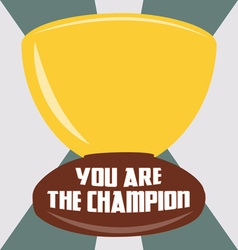 You are the champion vector