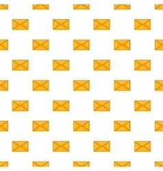 Envelope pattern cartoon style vector
