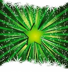 Festive star background vector