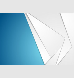 Grey and blue tech abstract background vector