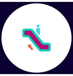 Staircase computer symbol vector