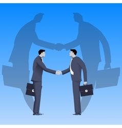 Global deal business concept vector