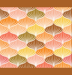 abstract seamless pattern floral oriental vector image