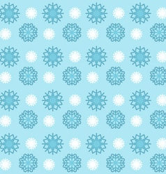 Snowflakes seamless pattern wallpaper background vector