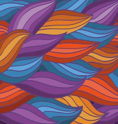 Bright color pattern of the waves vector