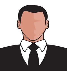 Businessman icon2 resize vector image vector image