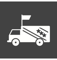 Campaign vehicle vector