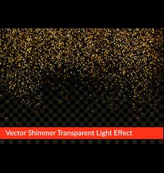Modern bright elegant shimmer glitter card vector